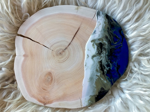 resin-boomstamplank-decoratie-epoxy-decoration-interior-cheeseboard-polihale-beach-resinart